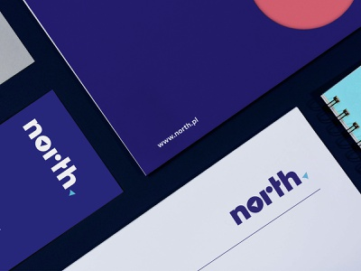 NORTH teamrio branding stationary logo
