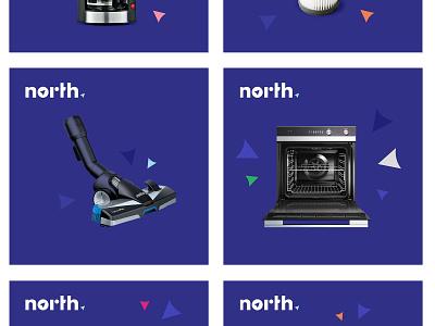 North repair reuse home ui brand rio creativo logo