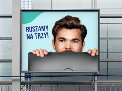 Trzy Fale teaser campaign park water outdoor print ad campaign teaser słupsk rio creativo branding