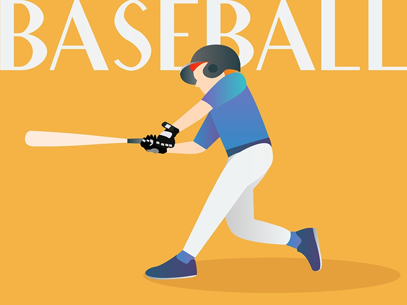 Baseball Illustration freelance design freelance remote sports illustration sports practise illustration challenge illustration design illustration baseball
