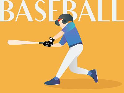 Baseball Illustration freelance design freelance remote sports illustration sports practise illustration challenge illustration design illustration baseball