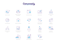Compose.Ly Icons set