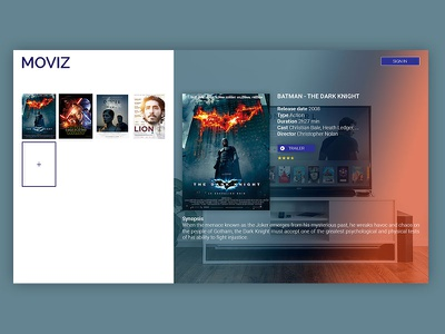 Moviz movie trailers movie sites movie application website movie