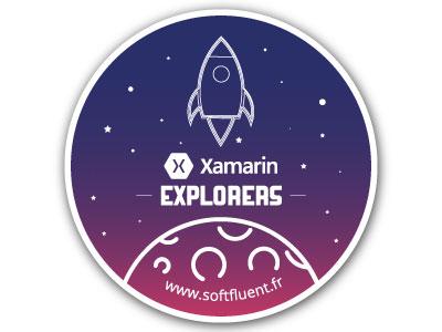 Rocket Launch Stickers softfluent flat design explorers xamarin ui gradient gradient moon stickers rocket rocket launch