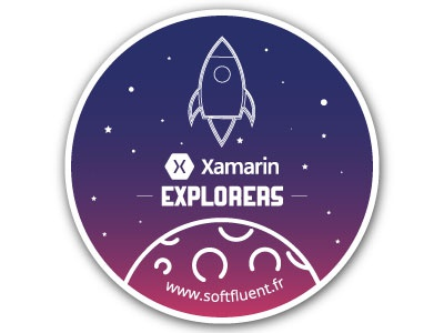 Rocket Launch Stickers softfluent flat design explorers xamarin ui gradient gradient moon stickers rocket rocket launch