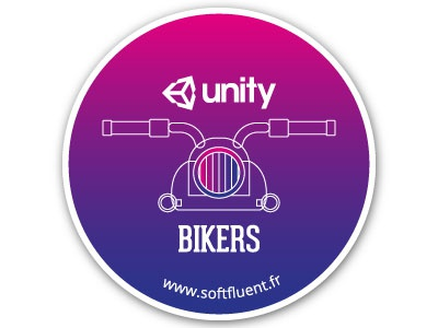 Bikers sticker softfluent flat design ui gradient gradient stickers motorbike bikers unity