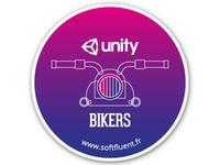 Bikers sticker