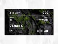 Oshana - Event Interactive Cover Design