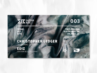 Christopher Ledger - Event Interactive Cover Design