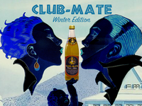 Club-Mate Winter Edition Collage