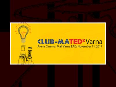 TEDxVarna x Club Mate Event Cover Design