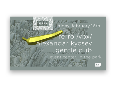 Event Cover Design for Ferro & Terra Music