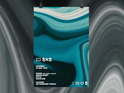Poster Design for Terra Music and Rossko /Fuse, London/