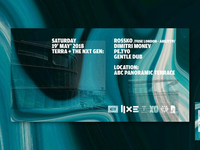 Event Video Cover Designs for Terra Music and Rossko Rooftop
