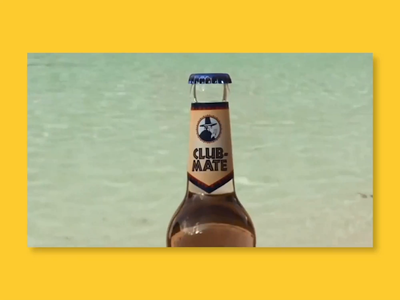 Promo Video for Club-Mate Culture Event Series