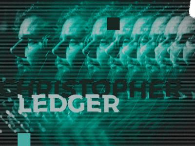 Promo Design Explorations for Christopher Ledger