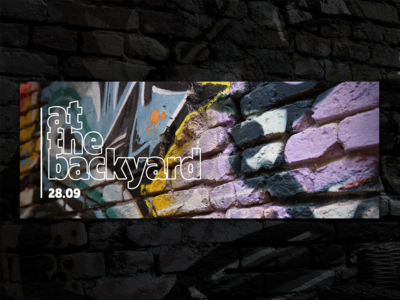 Event Cover Photos Design for That Divine at the backyard series