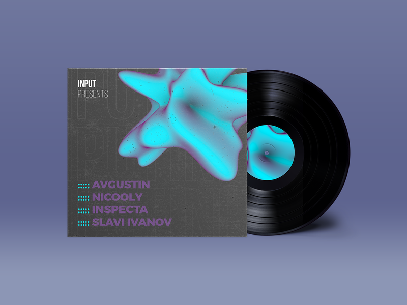 Vinyl Cover Design Explorations explorations djs cover design vinyl collage event graphic design vinyl record vinyl cover promoters music art electronic music typography design artwork