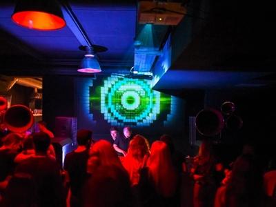 Visuals Set For Dan Andrei, Kozmos & Sumrak @ Koncept Space art djs sumrak kozmos dan andrei bulgaria sofia mixing party rave event electronic music set vj visuals