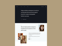 Another layout experiment ux website typography layout hover branding interaction uidesign design userinterface uiux ui