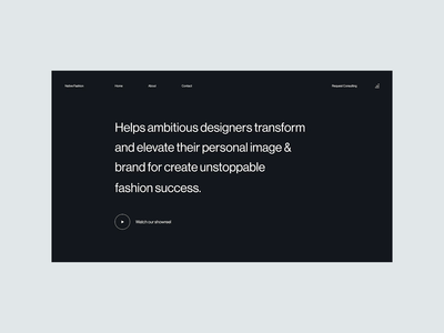 Another alternative layout & interaction animation experiment fashion design fashion brand fashion website typography layout hover design uidesign interaction branding userinterface uiux ui