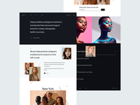 Another layout experiment userinterfacedesign uxdesign uxui fashionbrand fashion ux experiment website typography hover layout uidesign design interaction userinterface uiux ui
