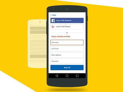 Login Popup for Responsive website  mobile sign up responsive register login