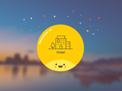 Happy Traveling  travel ux ui user interface happy face vector design e-commerce illustration