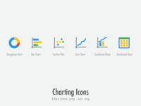 Free : 24px Charting Icons
