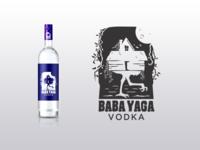 Baba Yaga Vodka Logo Concept