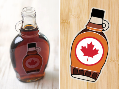 Maple Syrup: The Sticker