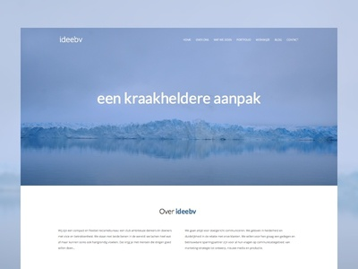 Redesign corporate website wip