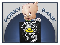 Porky Bank - by Claudiu Manea
