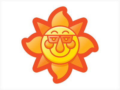 Sonny sun iconography icons vonster