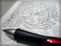 iPad Etching Design