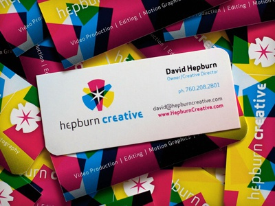 Business Card Design logo branding identity print
