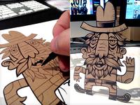 Cardboard Doodle