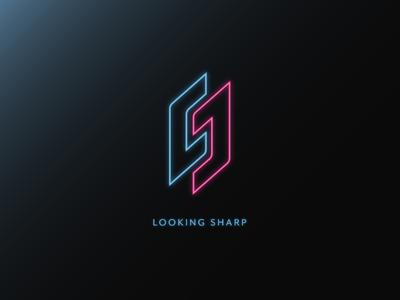 CJ - Looking Sharp Logo