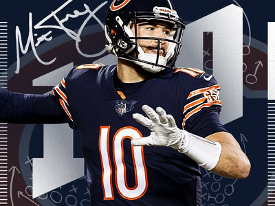 10 Days to Kickoff nflpa mitchell trubisky bears chicago nfl100 nflshop fanatics