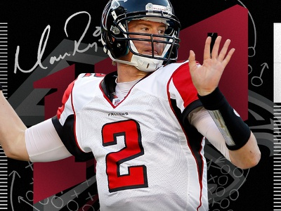2 Days to Kickoff countdown quarterback falcons atlanta matt ryan nflpa nfl100 fanatics nflshop nfl