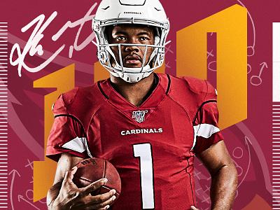 1 Day to Kickoff countdown cardinals arizona kyler murray nflpa nfl100 fanatics nflshop nfl
