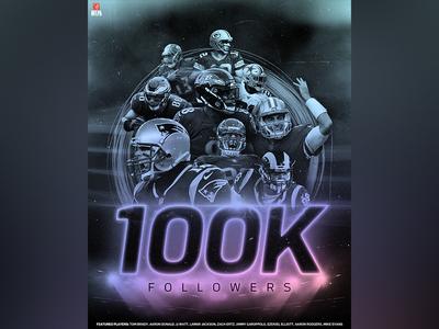 NFLShop 100K Instagram Followers
