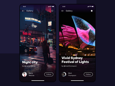 Light, Music & Ideas icon lights night typography purple dailyui interface design iphone xs ios interface illustration design ui