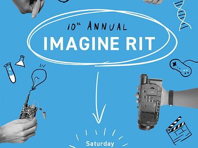 Imagine RIT poster imagine rit poster design poster imagine rochester rit
