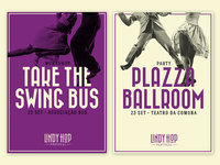 Lindy Hop Portugal - Posters