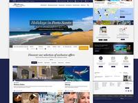 Pestana Hotels Website