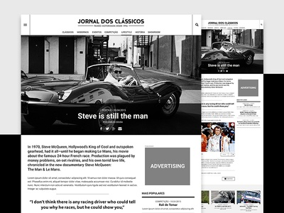 Jornal dos Clássicos — Article article ui ux article page cars classified vintage vehicles
