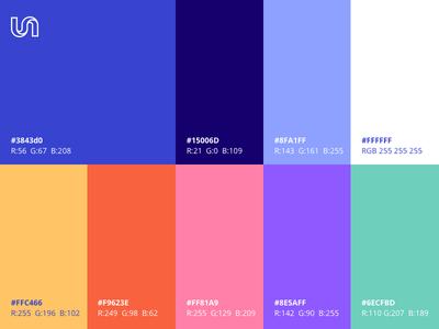 Unbabel Palette art direction colorful diversity unbabel brand color palette design branding
