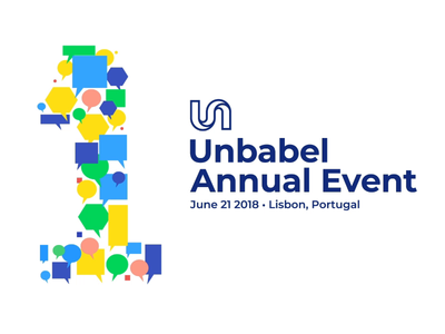 Unbabel Anual Event - Bumper unbabel design logo animation logotype motiongraphic motion brand