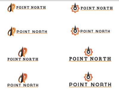 Logo ideas for point north